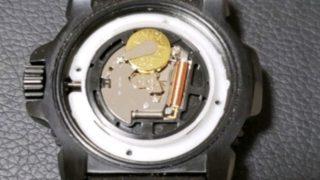 ルミノックス3150BOの電池交換