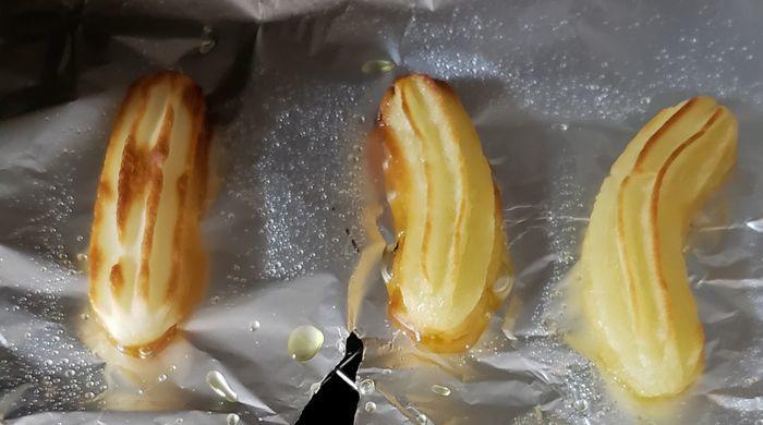 オーブントースターで焼きあがったチューロス