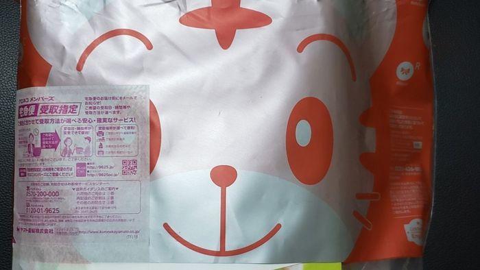 郵送で届いたこどもちゃれんじぷちEnglish
