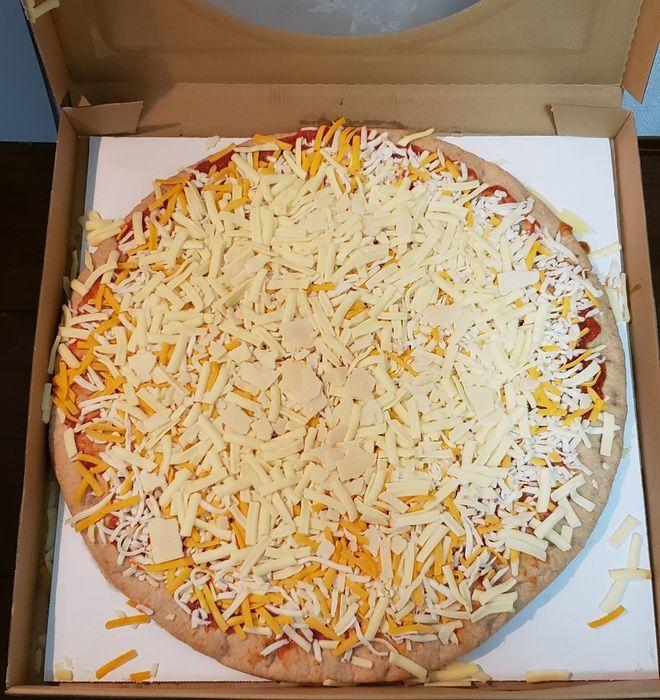 コストコの焼いていないピザ