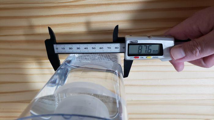 サイズを計測