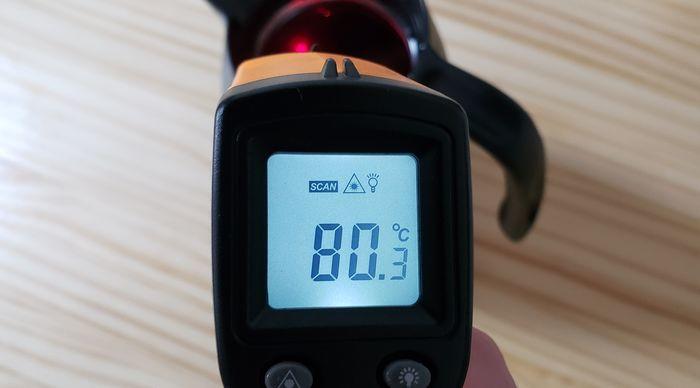 サーモスポットの保温温度