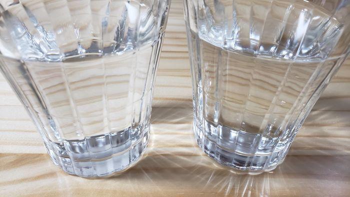 ブリタで浄水した水