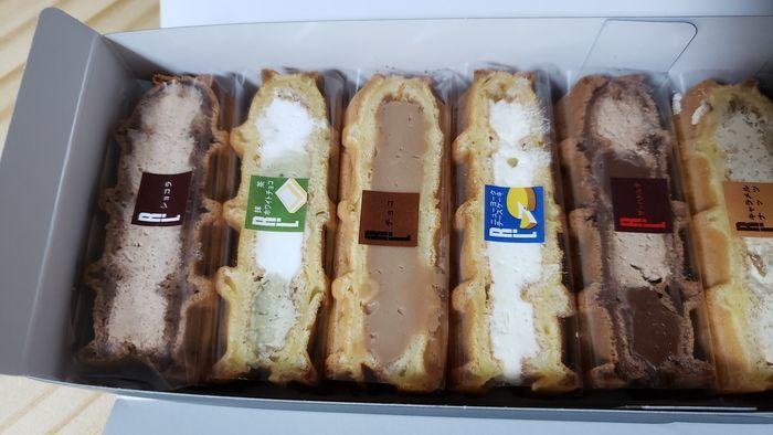 ワッフルケーキの種類