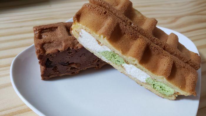 エールエルのワッフルケーキ