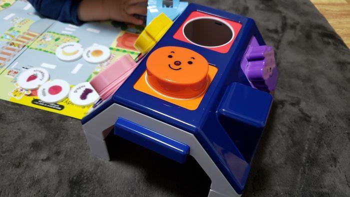 ブロックの知育玩具