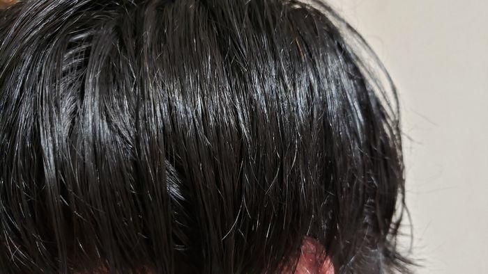 白髪染め後
