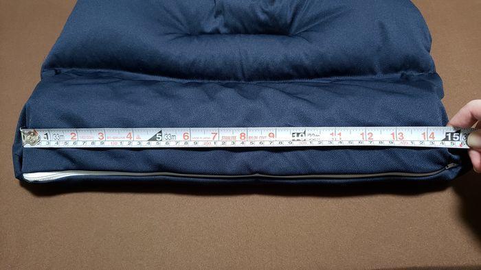 メジャーで長さを測定