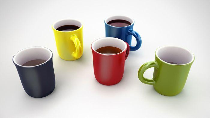 休憩に飲むコーヒー