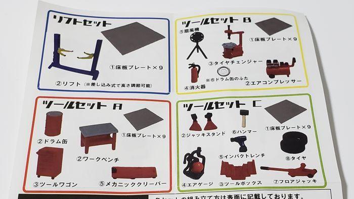 ガレージツールコレクションのラインナップ