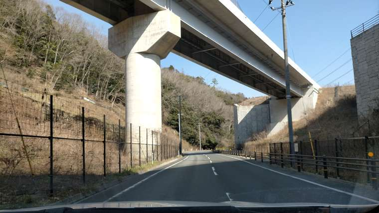 新名神高速道路の高架